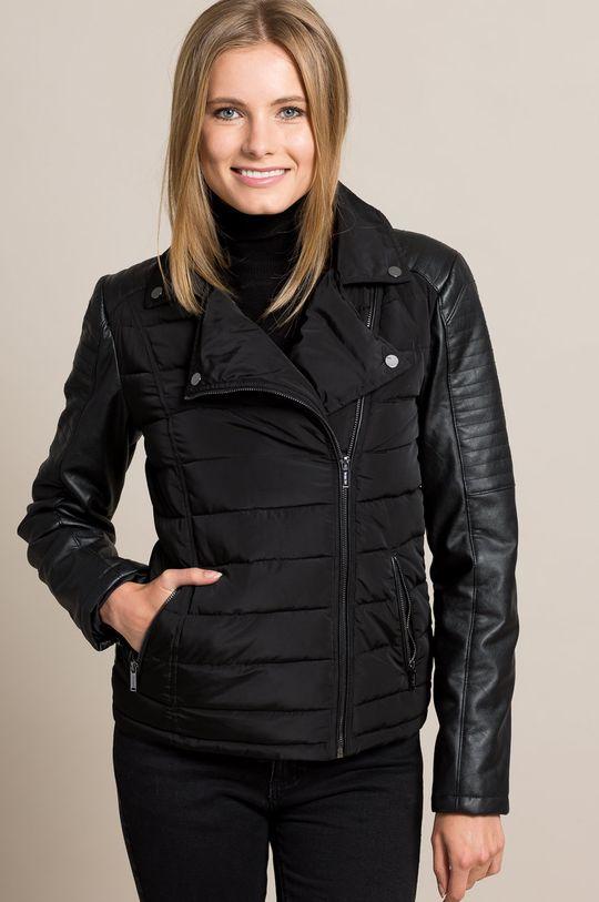 fekete Answear - Rövid kabát Rebel Női