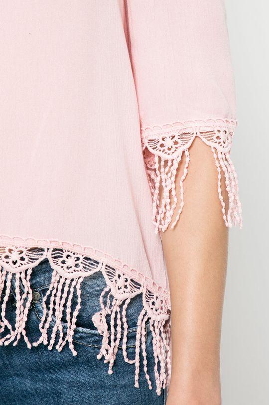 pastelová ružová Answear - Blúzka