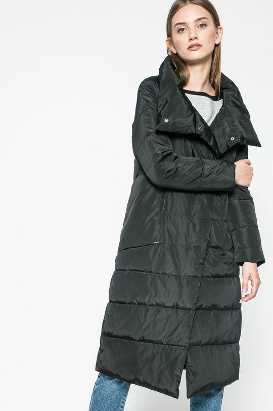 čierna Answear - Kabát Dámsky