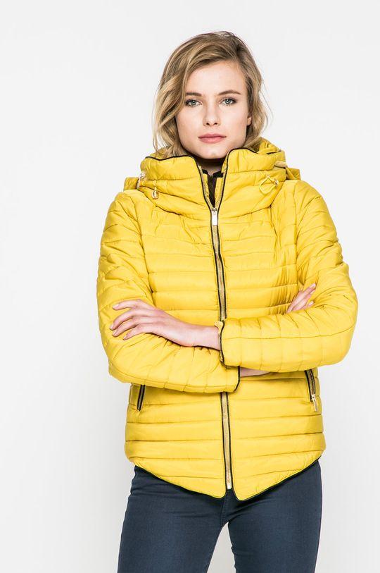 žltá Answear - Bunda Dámsky
