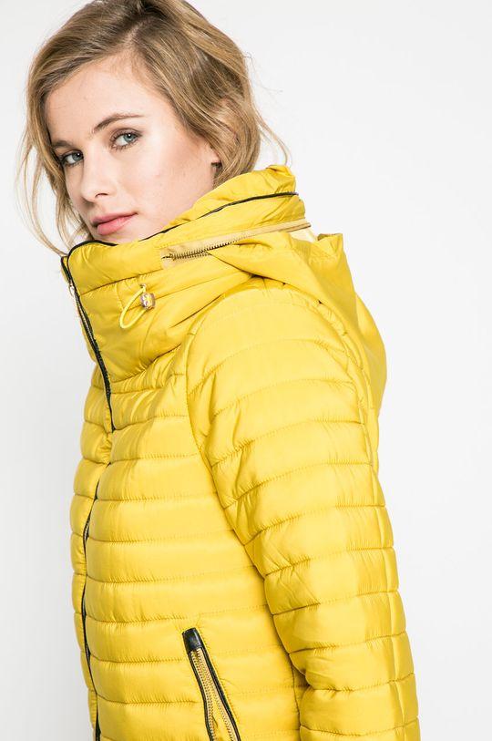 žltá Answear - Bunda