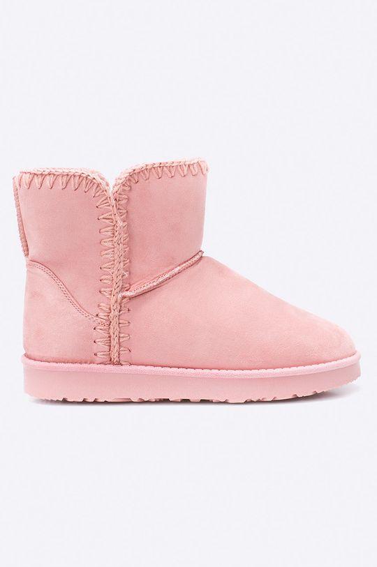pastelová ružová Answear - Topánky Dámsky