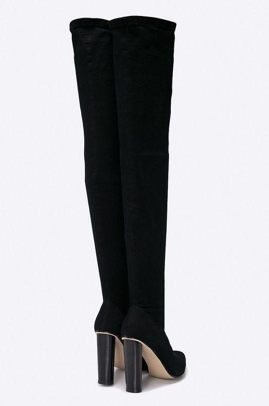 čierna Answear - Vysoké čižmy Secret