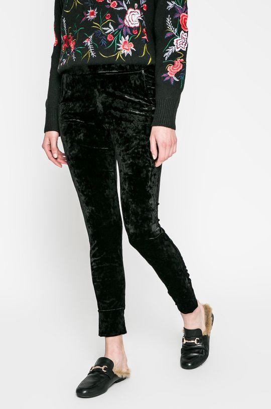 čierna Answear - Nohavice Blossom Mood Dámsky