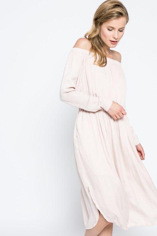 pastelová ružová Answear - Šaty Blossom Mood Dámsky