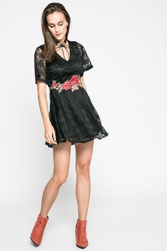 Answear - Šaty Blossom Mood čierna