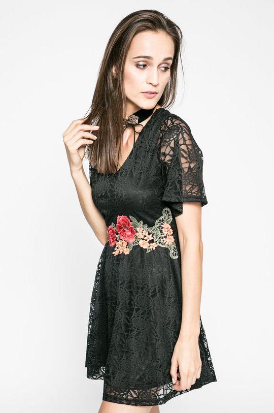 čierna Answear - Šaty Blossom Mood