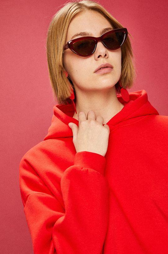 červená Answear - Mikina Femifesto