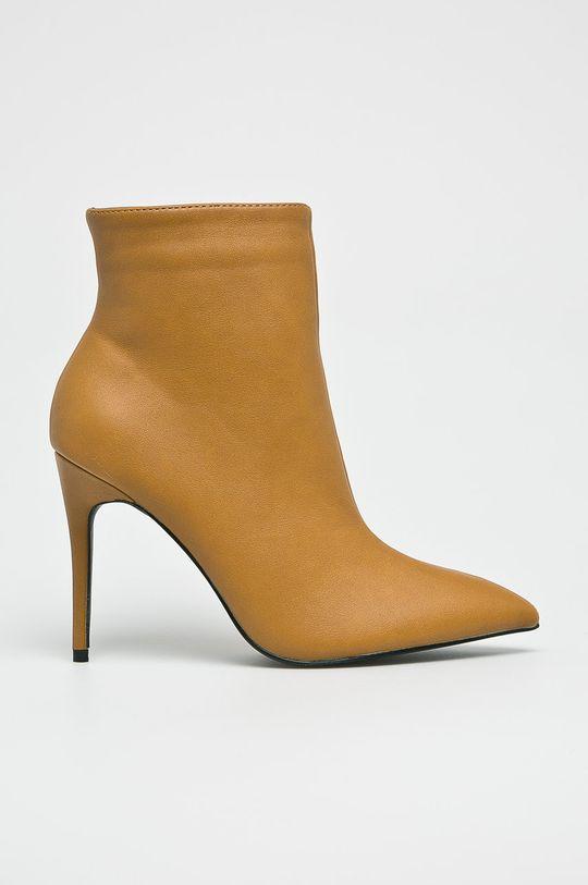 galben Answear - Botine De femei