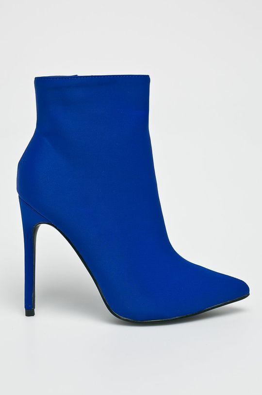 modrá Answear - Čižmy Dámsky