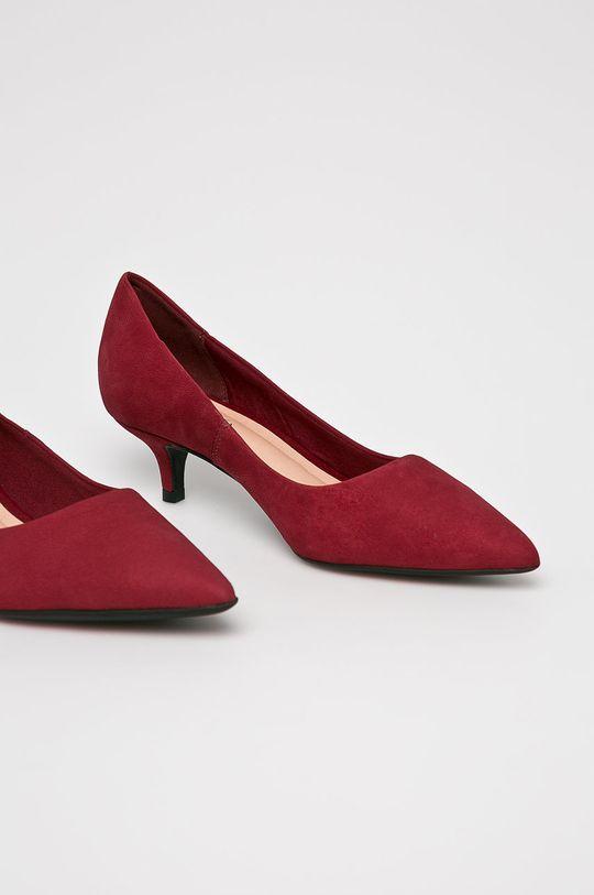 Answear - Pantofi cu toc Heritage castan