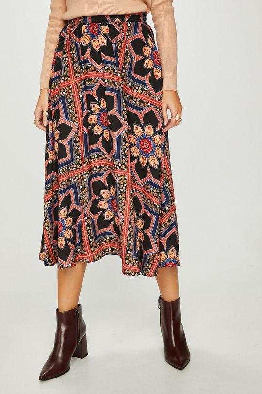 viacfarebná Answear - Sukňa Heritage Dámsky