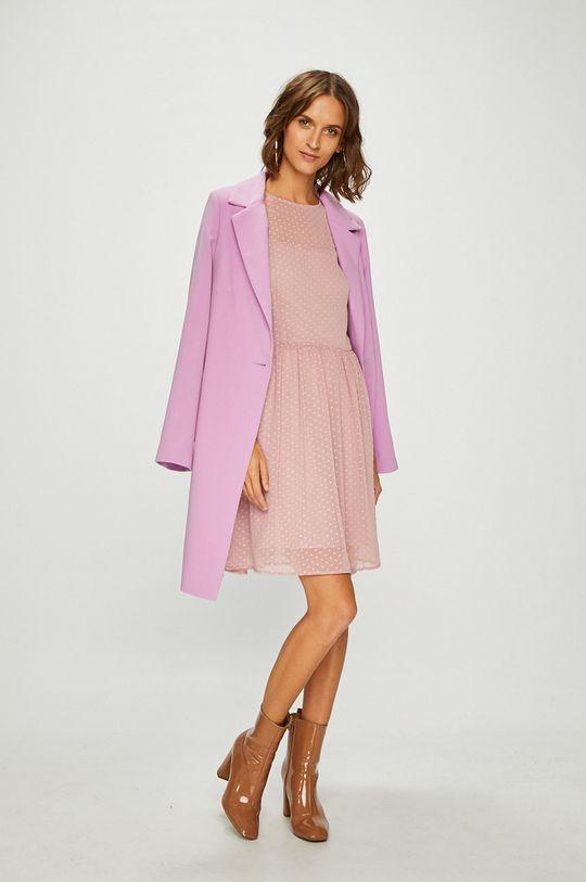 Answear - Šaty pastelová ružová
