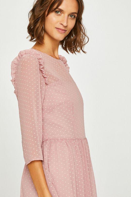 pastelová ružová Answear - Šaty