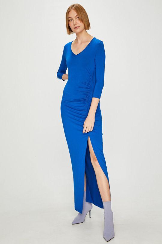 modrá Answear - Šaty Watch Me