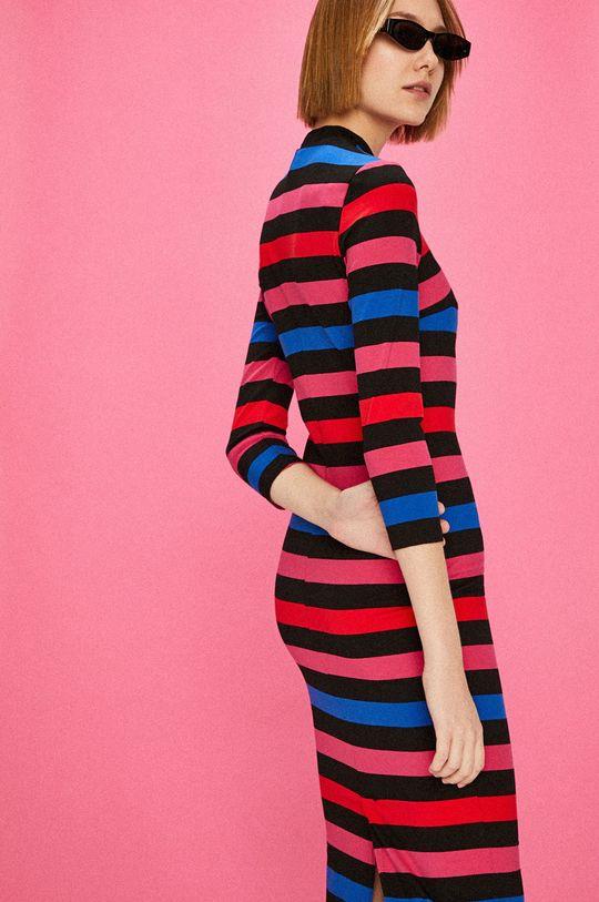 viacfarebná Answear - Šaty Watch Me