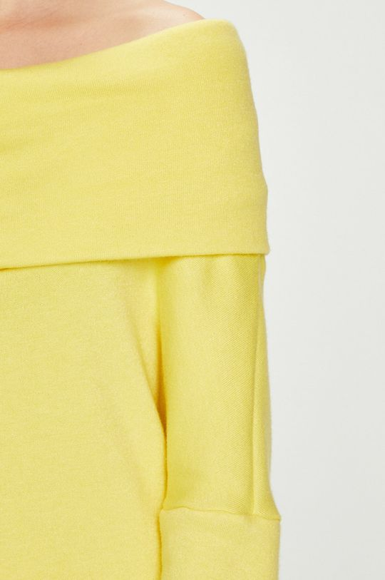 žltá Answear - Šaty Watch Me