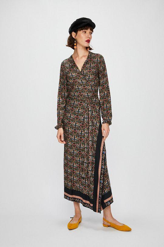 viacfarebná Answear - Šaty Falling in autumn