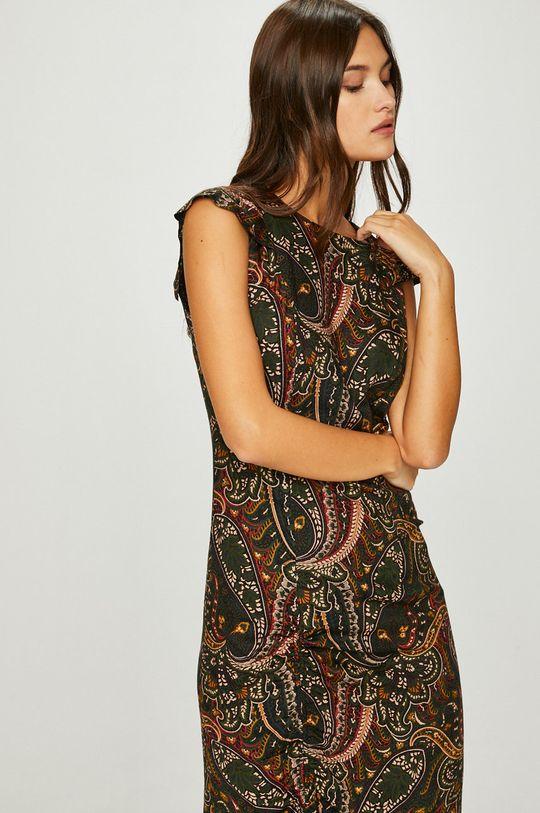 viacfarebná Answear - Šaty Nomad
