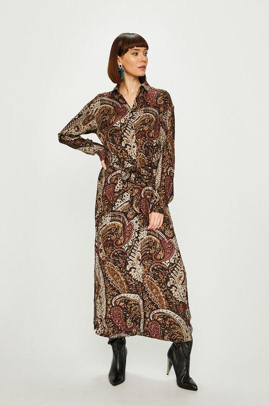 viacfarebná Answear - Šaty NOMAD Dámsky