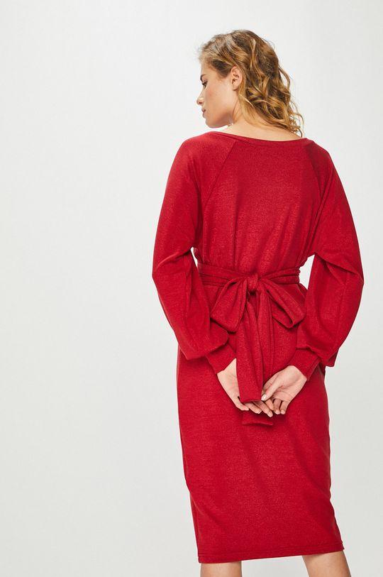Answear Lab - Sukienka 4 % Elastan, 85 % Poliester, 11 % Włókno metaliczne,