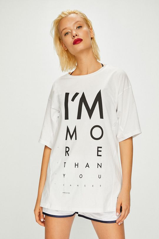 biela Answear - Top Manifest Your Style Dámsky