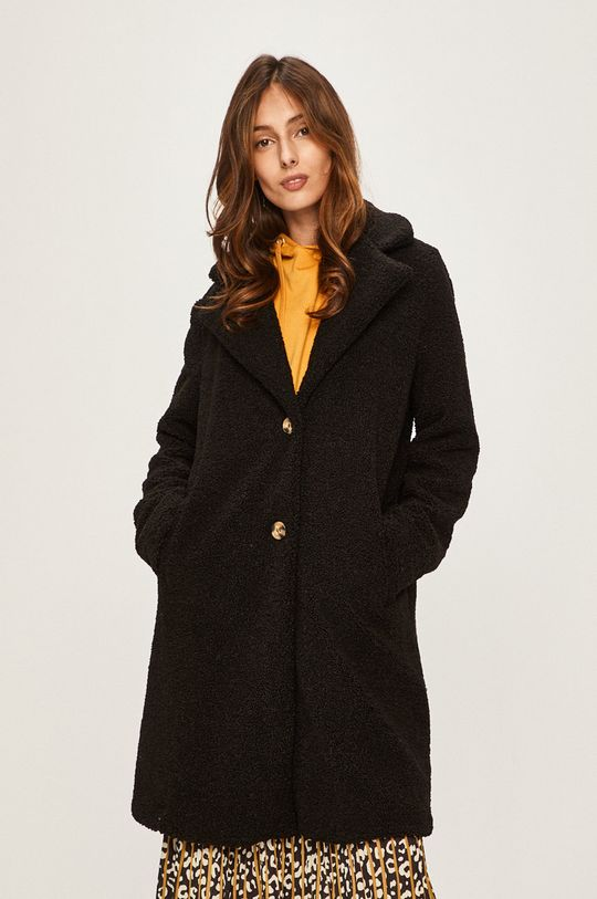 czarny Answear Lab - Płaszcz