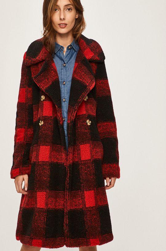 červená Answear - Kabát Dámsky