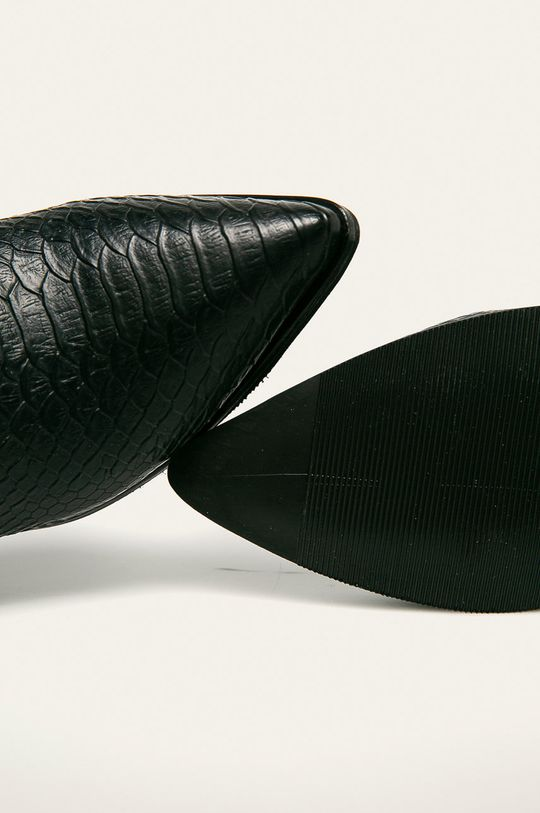 czarny Answear - Botki