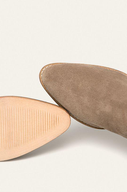 masliniu cald Answear - Botine de piele