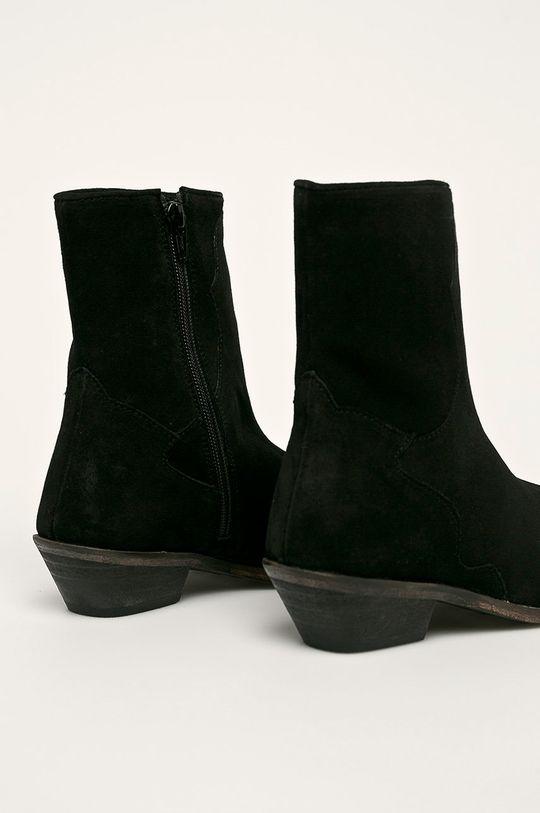Answear - Členkové topánky  Zvršok: Semišová koža Vnútro: Syntetická látka, Textil Podrážka: Syntetická látka