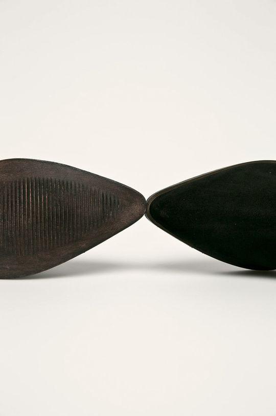 čierna Answear - Členkové topánky