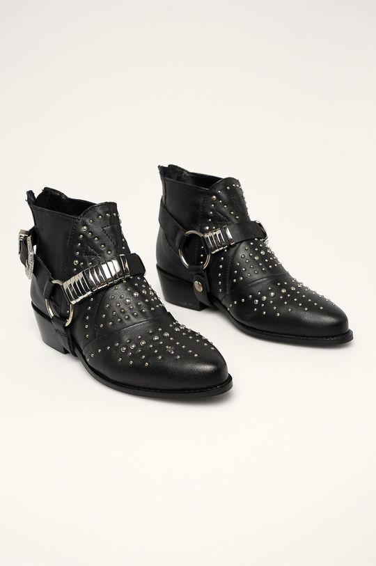Answear - Členkové topánky čierna