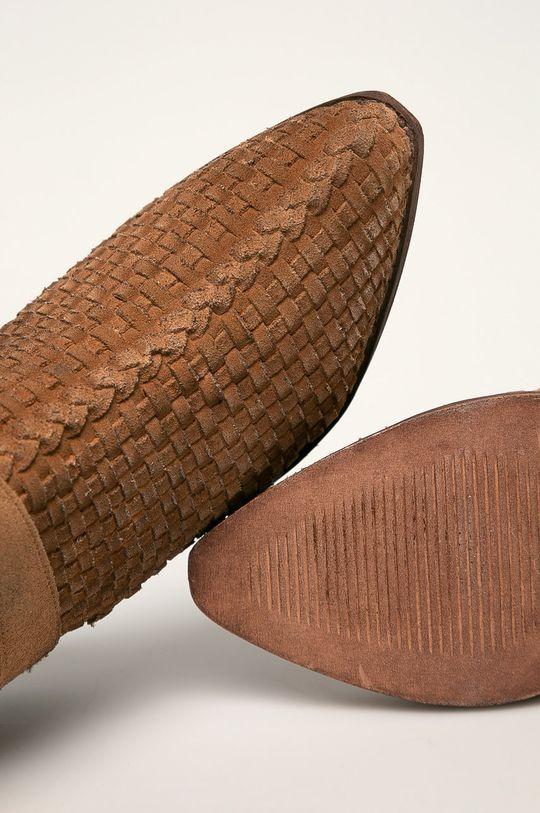 maro Answear - Botine de piele