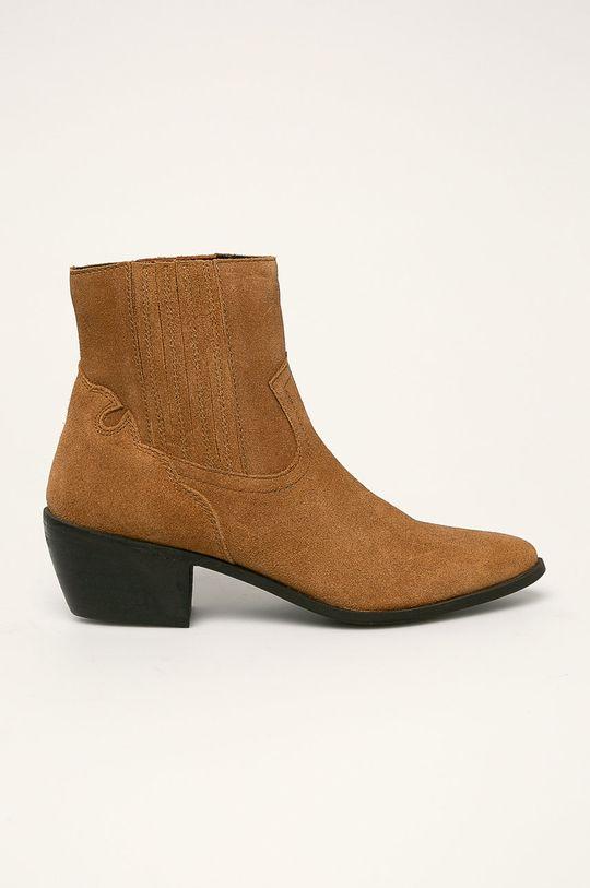 béžová Answear - Členkové topánky Dámsky