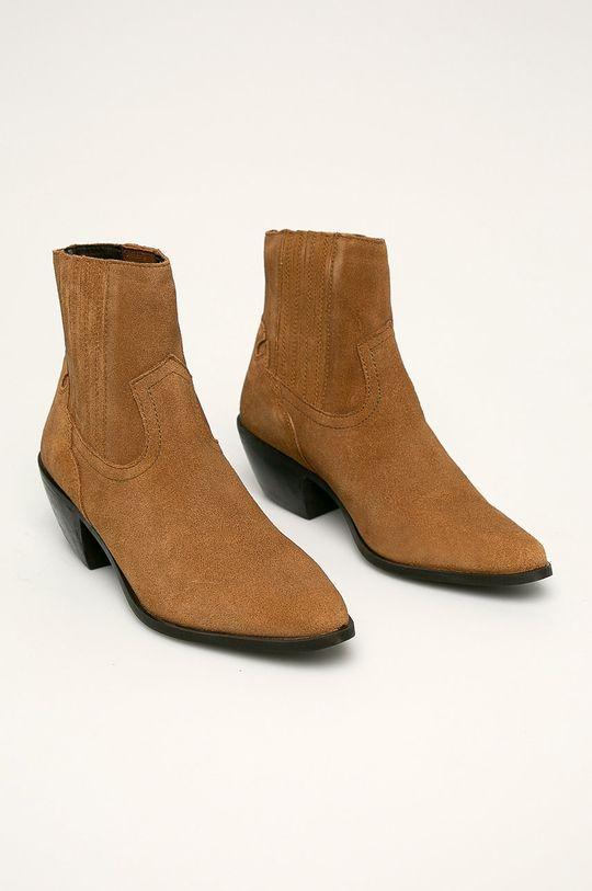 Answear - Členkové topánky béžová