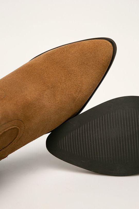 béžová Answear - Členkové topánky