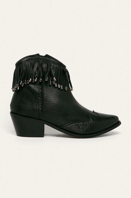 čierna Answear - Členkové topánky Dámsky