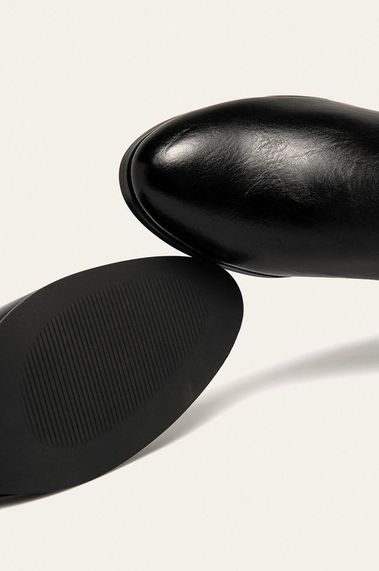 czarny Answear Lab - Botki