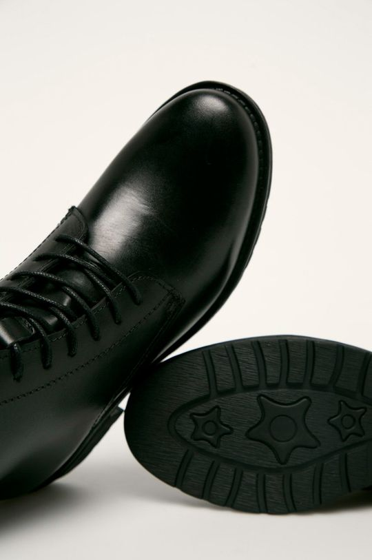 negru Answear - Botine de piele