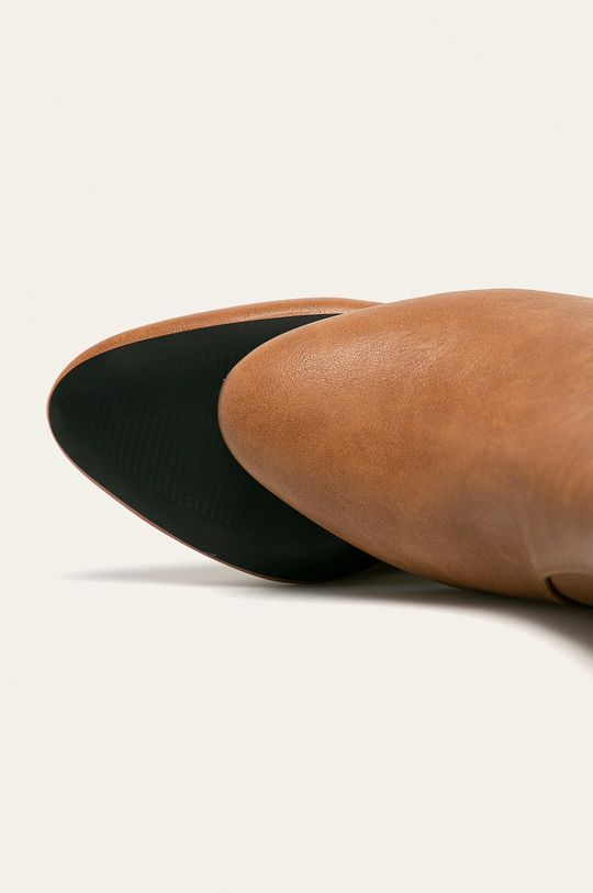 brązowy Answear Lab - Botki
