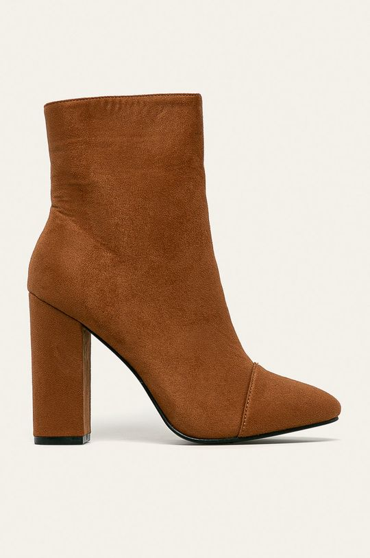 hnedá Answear - Členkové topánky Dámsky