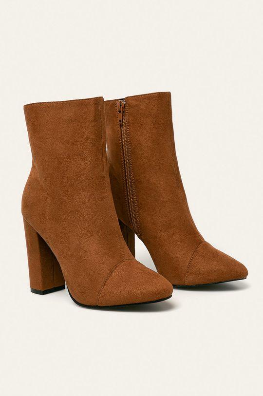 Answear - Členkové topánky hnedá