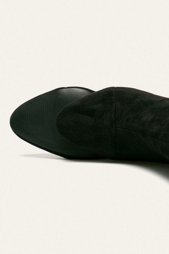 Answear - Botki Cholewka: Materiał tekstylny, Wnętrze: Materiał syntetyczny, Materiał tekstylny, Podeszwa: Materiał syntetyczny