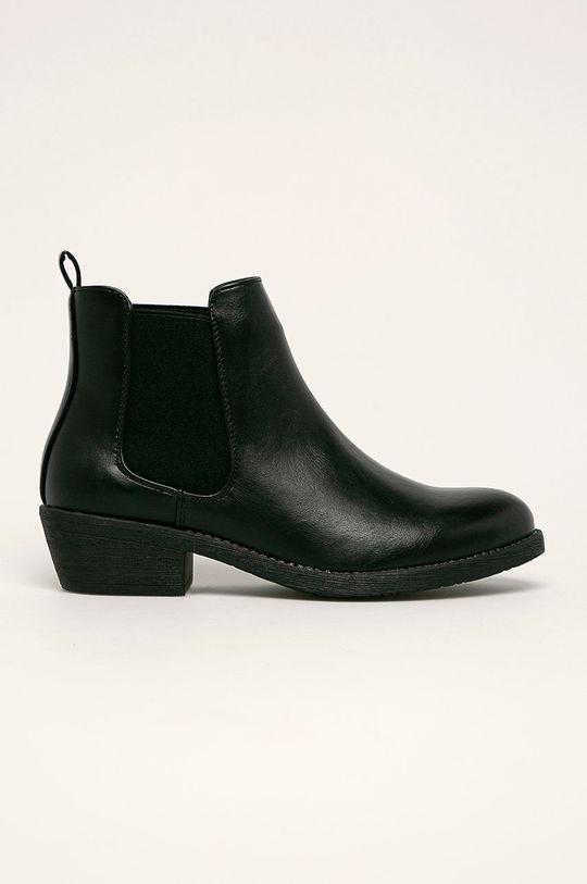 negru Answear - Cizme Sergio Leone De femei