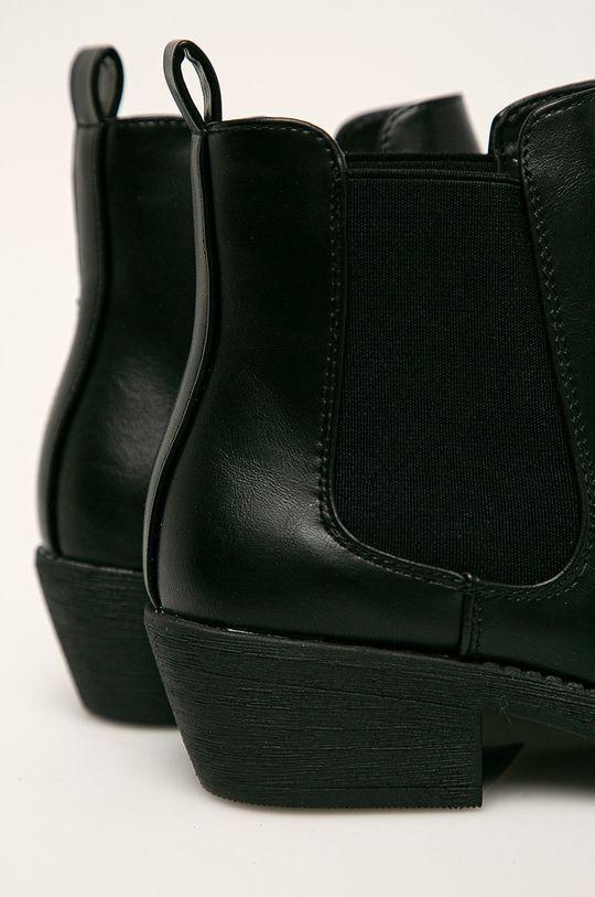 Answear - Cizme Sergio Leone Gamba: Material sintetic Interiorul: Material textil Talpa: Material sintetic