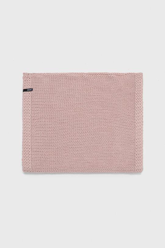 Answear - Fular impletit roz pastelat
