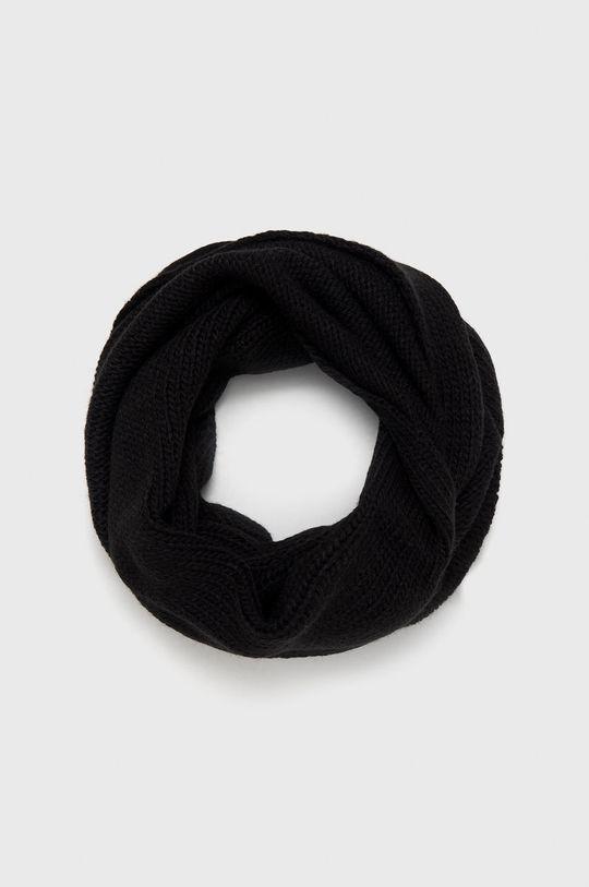 negru Answear - Fular impletit De femei