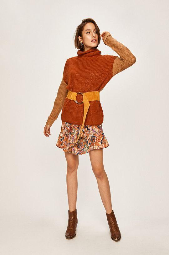 Answear Lab - Sukienka musztardowy