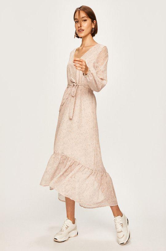 roz pastelat Answear - Rochie De femei